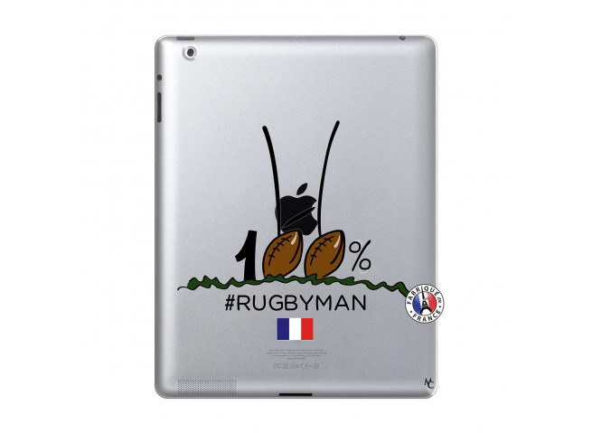 Coque iPad 2 100 % Rugbyman Entre les Poteaux