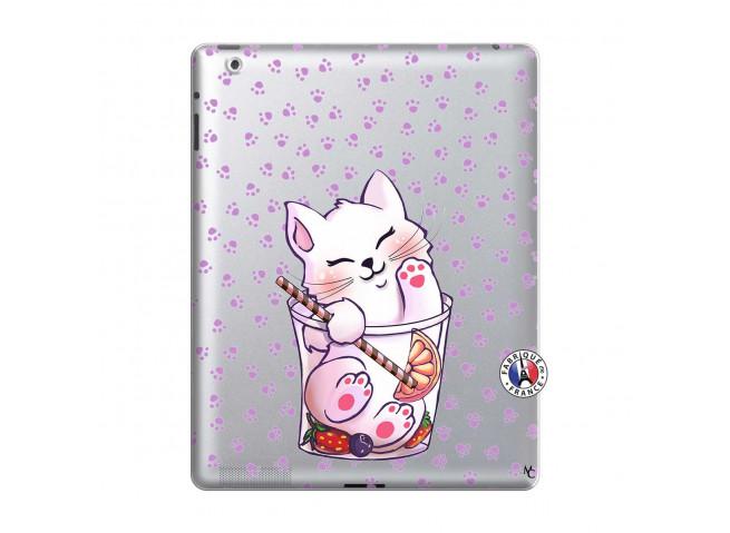 Coque iPad 2 Smoothie Cat