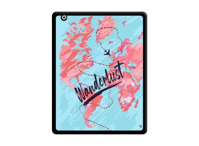 Coque iPad 2 Wanderlust Noir