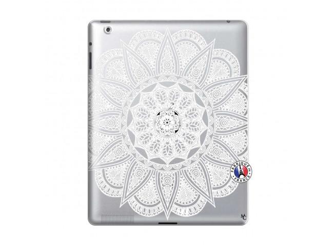 Coque iPad 2 White Mandala