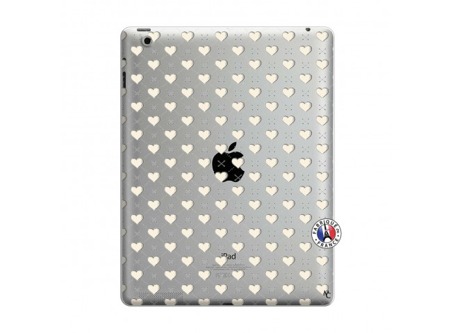 Coque iPad 3/4 Retina Little Hearts