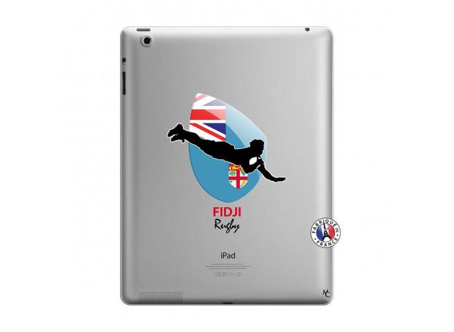 Coque iPad 3/4 Retina Coupe du Monde Rugby Fidji