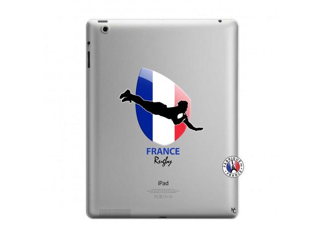 Coque iPad 3/4 Retina Coupe du Monde de Rugby-France