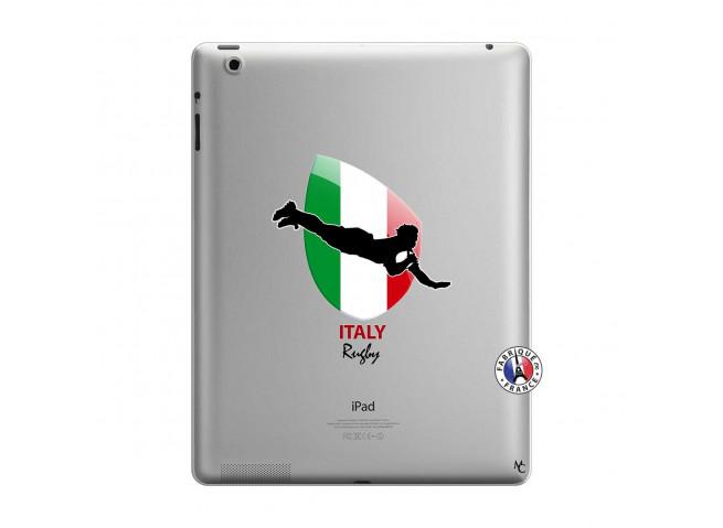 Coque iPad 3/4 Retina Coupe du Monde Rugby-Italy