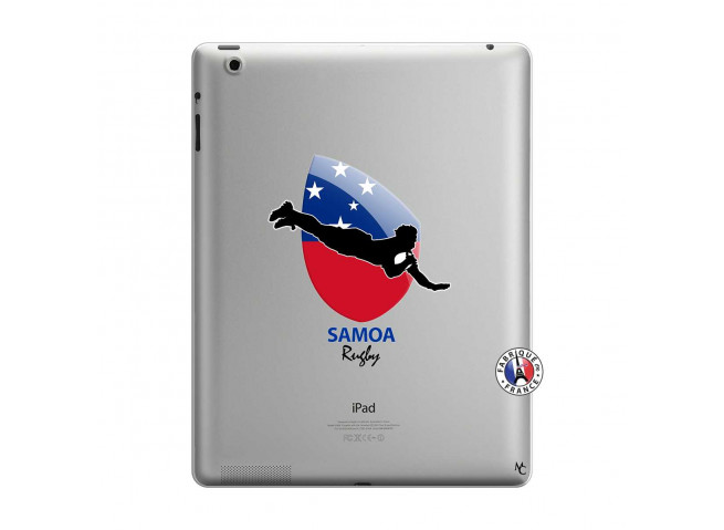 Coque iPad 3/4 Retina Coupe du Monde Rugby-Samoa