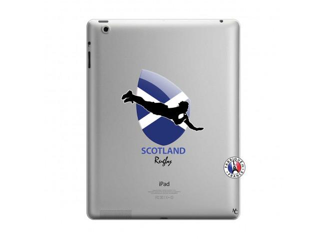 Coque iPad 3/4 Retina Coupe du Monde Rugby-Scotland