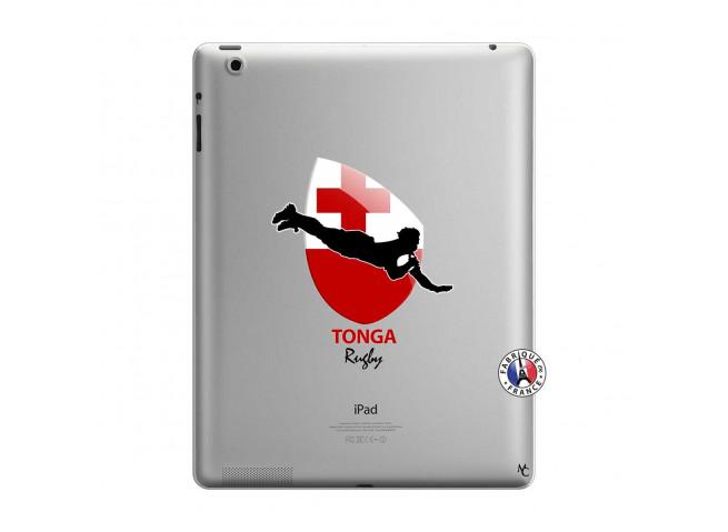 Coque iPad 3/4 Retina Coupe du Monde Rugby-Tonga
