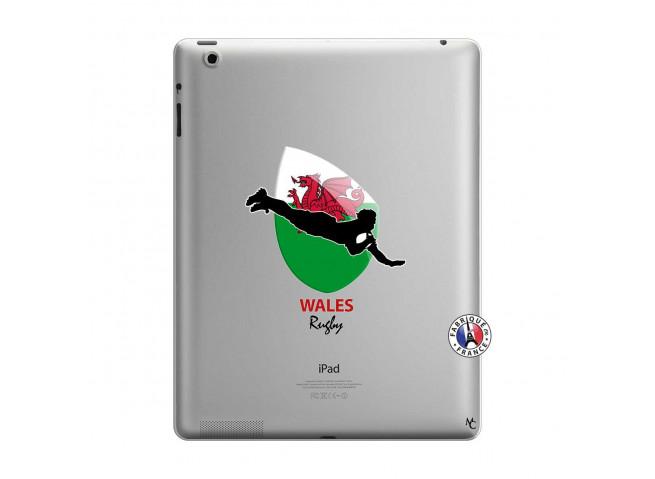Coque iPad 3/4 Retina Coupe du Monde Rugby-Walles