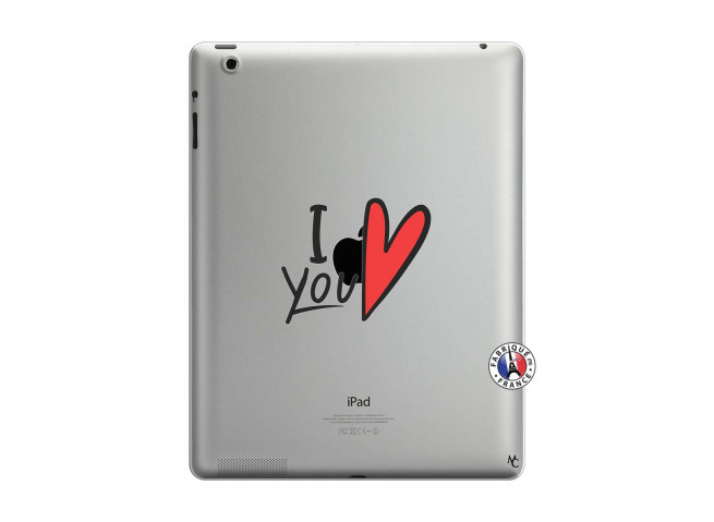 Coque iPad 3/4 Retina I Love You
