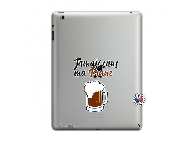 Coque iPad 3/4 Retina Jamais Sans Ma Brune