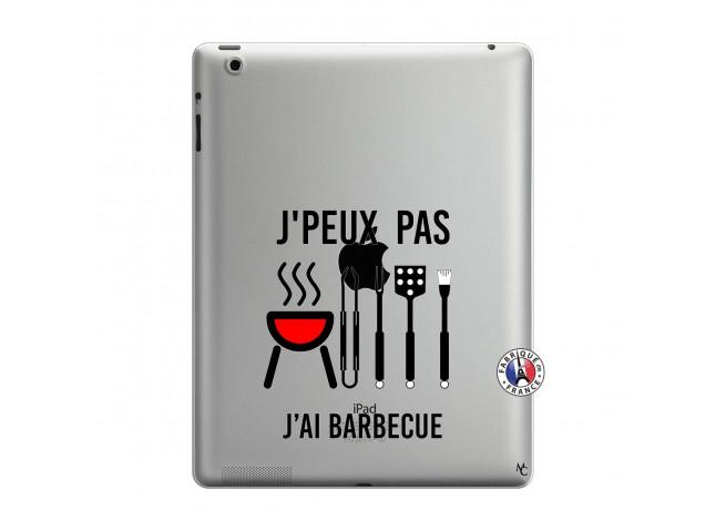 Coque iPad 3/4 Retina Je Peux Pas J Ai Barbecue