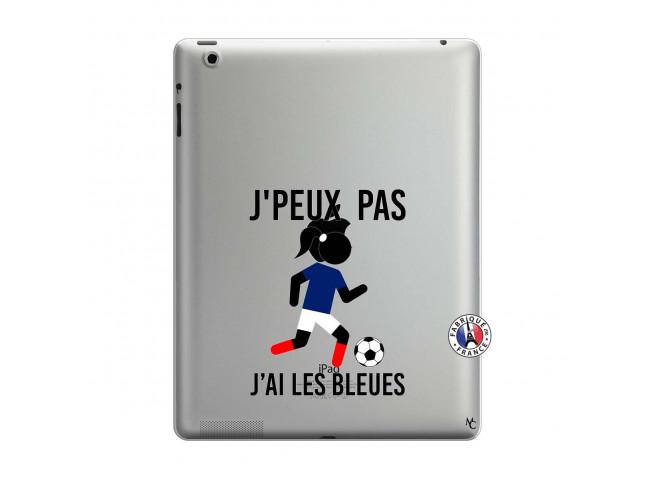 Coque iPad 3/4 Retina Je Peux Pas J Ai Les Bleues