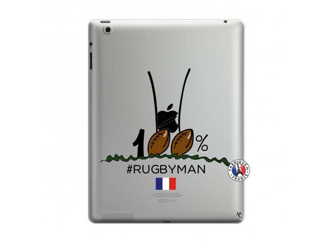 Coque iPad 3/4 Retina 100 % Rugbyman Entre les Poteaux