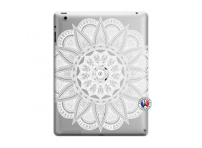 Coque iPad 3/4 Retina White Mandala