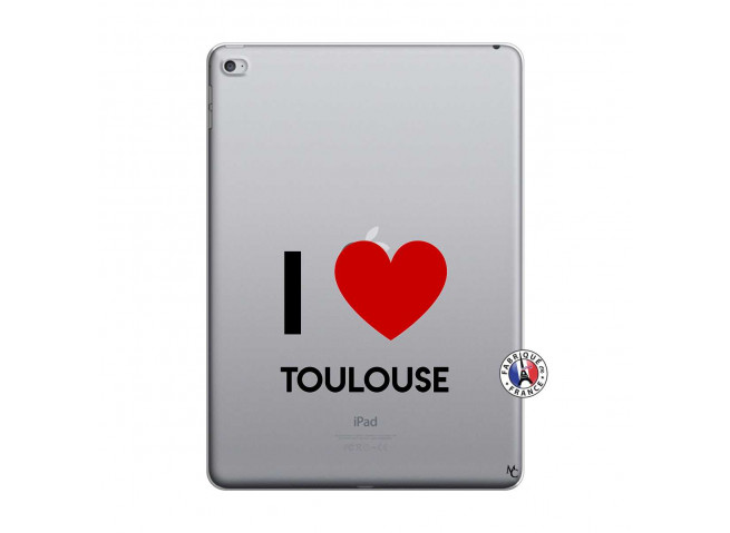 Coque iPad AIR 2 I Love Toulouse
