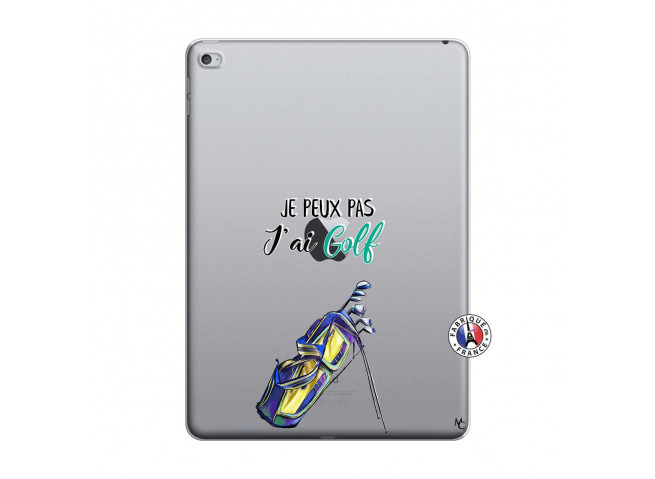 Coque iPad AIR 2 Je Peux Pas J Ai Golf