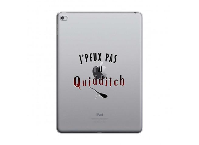 Coque iPad AIR 2 Hybrid J' peux pas j'ai Quidditch