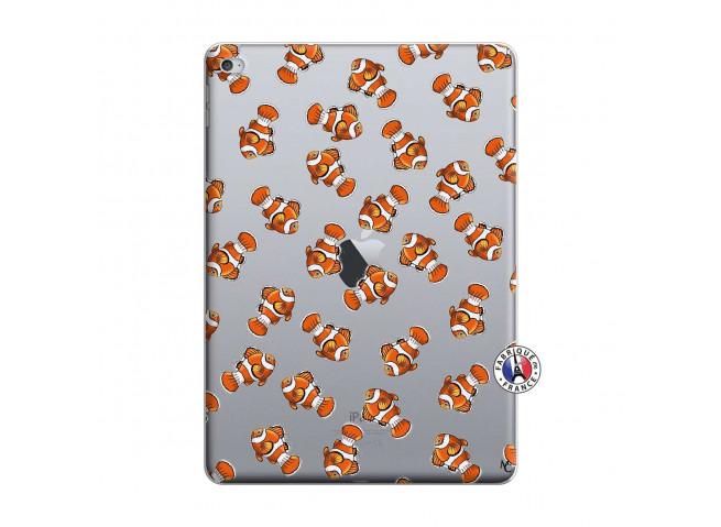 Coque iPad AIR 2 Petits Poissons Clown
