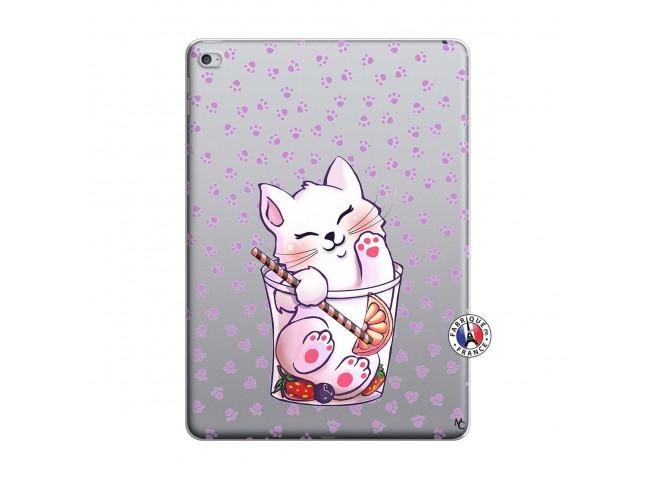 Coque iPad AIR 2 Smoothie Cat