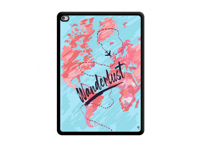 Coque iPad AIR 2 Wanderlust Noir