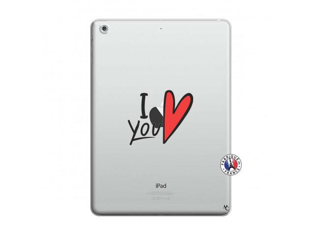 Coque iPad AIR I Love You
