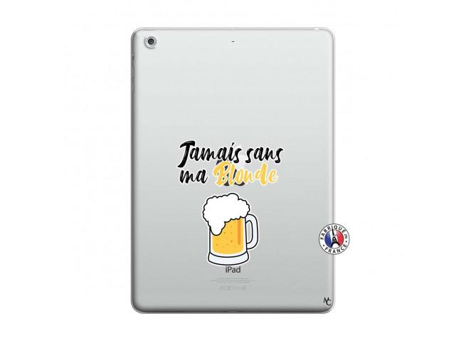 Coque iPad AIR Jamais Sans Ma Blonde