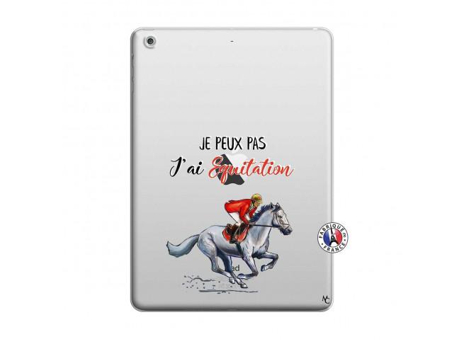 Coque iPad AIR Je Peux Pas J Ai Equitation