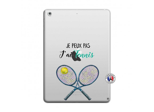 Coque iPad AIR Je Peux Pas J Ai Tennis