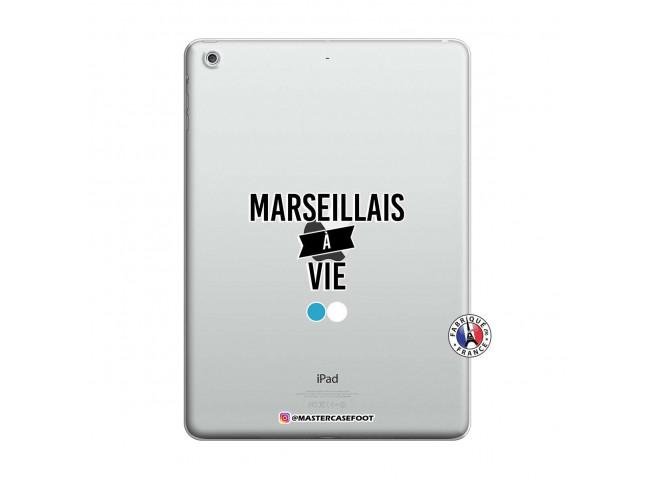 Coque iPad AIR Marseillais à Vie