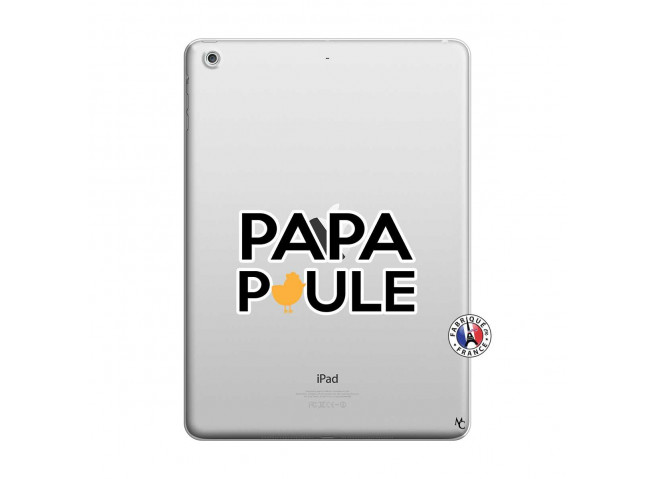 Coque iPad AIR Papa Poule