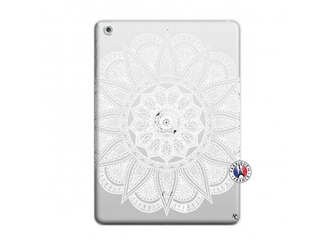 Coque iPad AIR White Mandala