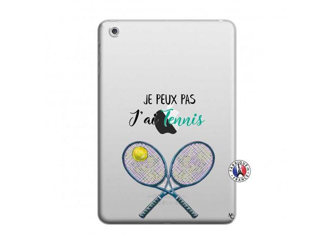 Coque iPad Mini 3/2/1 Je Peux Pas J Ai Tennis