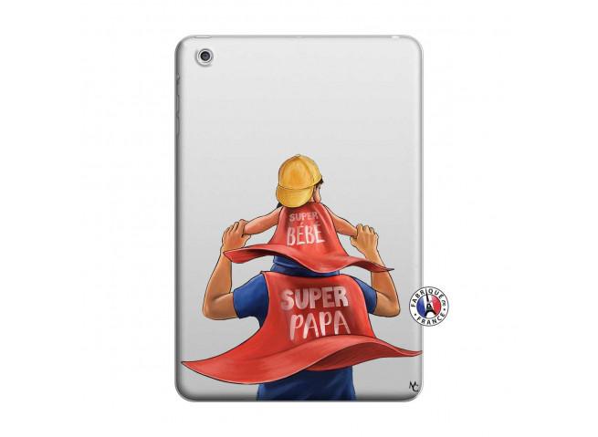 Coque iPad Mini 3/2/1 Super Papa et Super Bébé