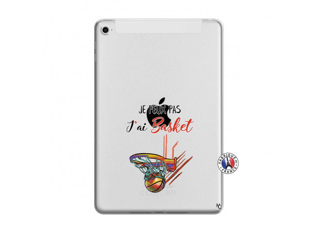 Coque iPad Mini 4 Je Peux Pas J Ai Basket