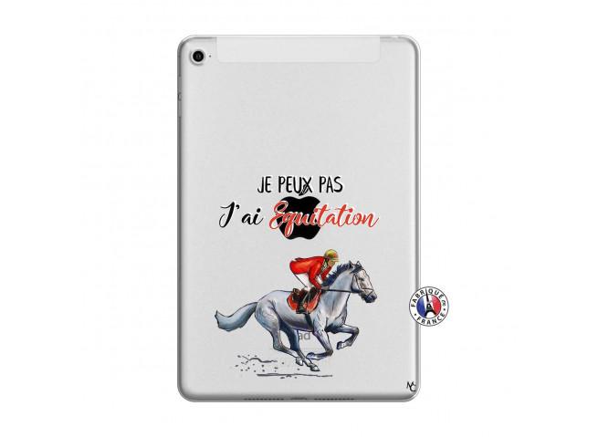 Coque iPad Mini 4 Je Peux Pas J Ai Equitation