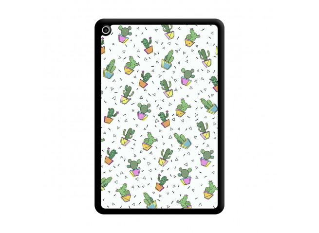 Coque iPad Mini 5/4 Le Monde Entier est un Cactus Noir