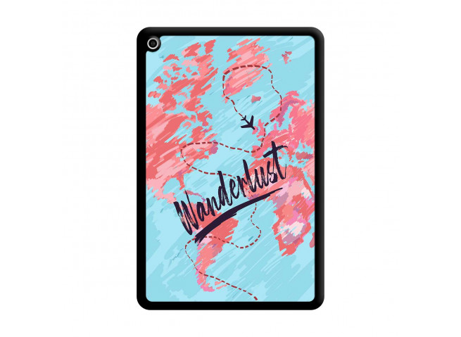 Coque iPad Mini 5/4 Wanderlust Noir