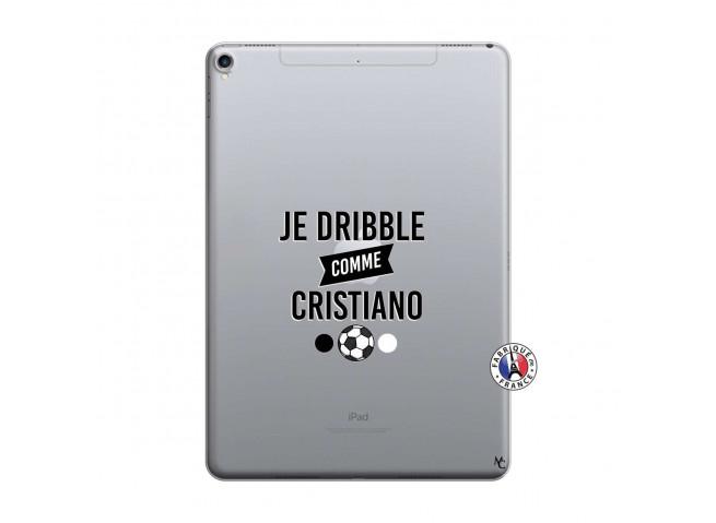 Coque iPad PRO 10.5 Je Dribble Comme Cristiano