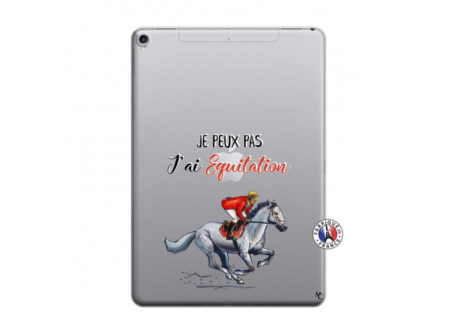 Coque iPad PRO 10.5 Je Peux Pas J Ai Equitation