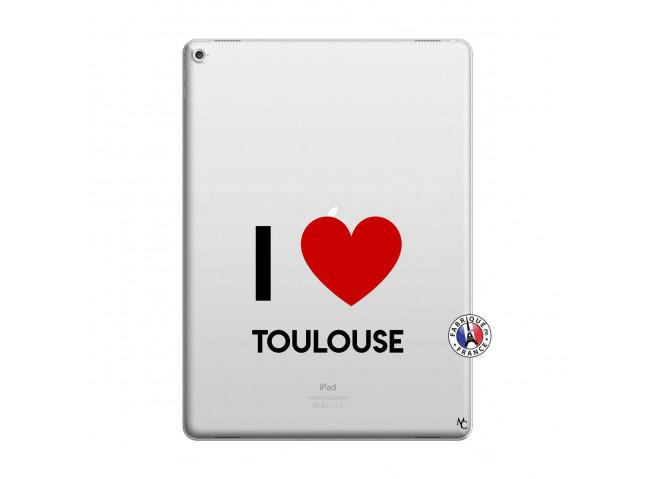 Coque iPad PRO 12.9 I Love Toulouse