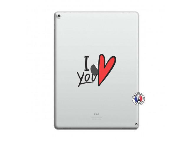 Coque iPad PRO 12.9 I Love You