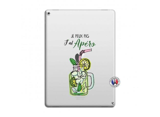 Coque iPad PRO 12.9 Je peux pas J'ai Apéro
