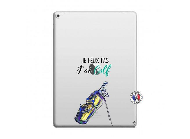 Coque iPad PRO 12.9 Je Peux Pas J Ai Golf