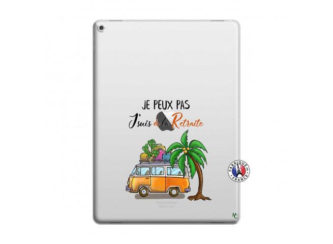 Coque iPad PRO 12.9 Je Peux Pas Je Suis A La Retraite