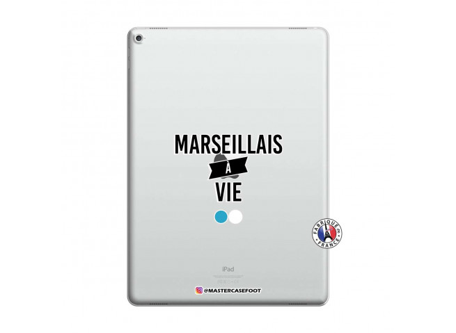 Coque iPad PRO 12.9 Marseillais à Vie