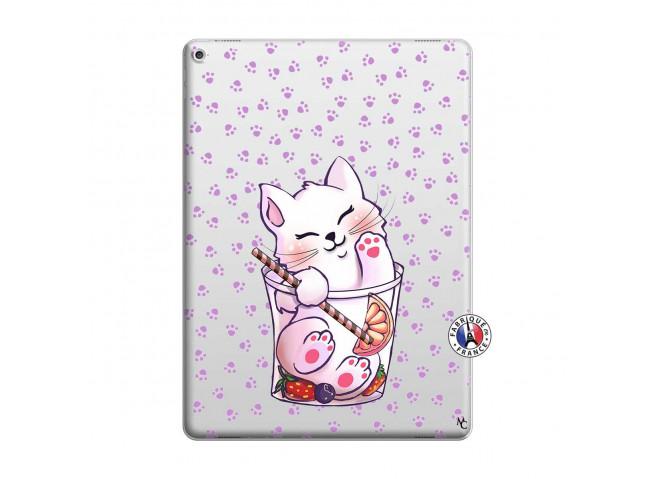 Coque iPad PRO 12.9 Smoothie Cat