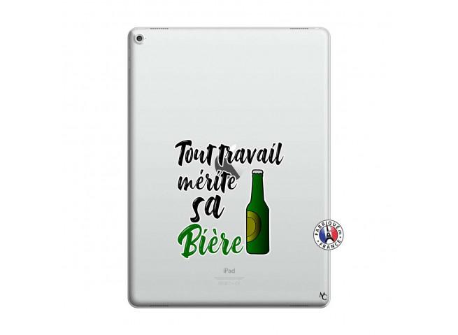 Coque iPad PRO 12.9 Tout Travail Merite Sa Biere