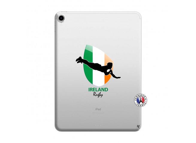 Coque iPad PRO 2018 11 Pouces Coupe du Monde Rugby-Ireland