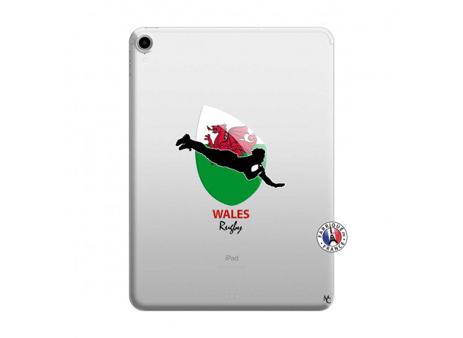 Coque iPad PRO 2018 11 Pouces Coupe du Monde Rugby-Walles