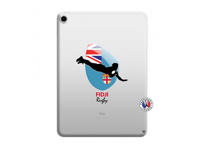 Coque iPad PRO 2018 12.9 Pouces Coupe du Monde Rugby Fidji